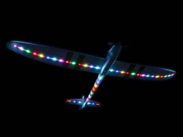 E-Flite Night Radian FT 2.0m BNF Basic with AS3X and SAFE Select EFL3650